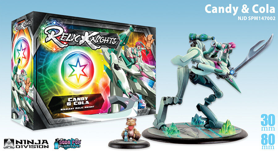 RELIC KNIGHTS CANDY & COLA NEW