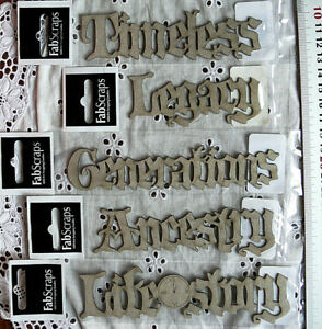 Chipboard-TIMELESS-LEGACY-ANCESTRY-GENERATIONS-Choice-Trv
