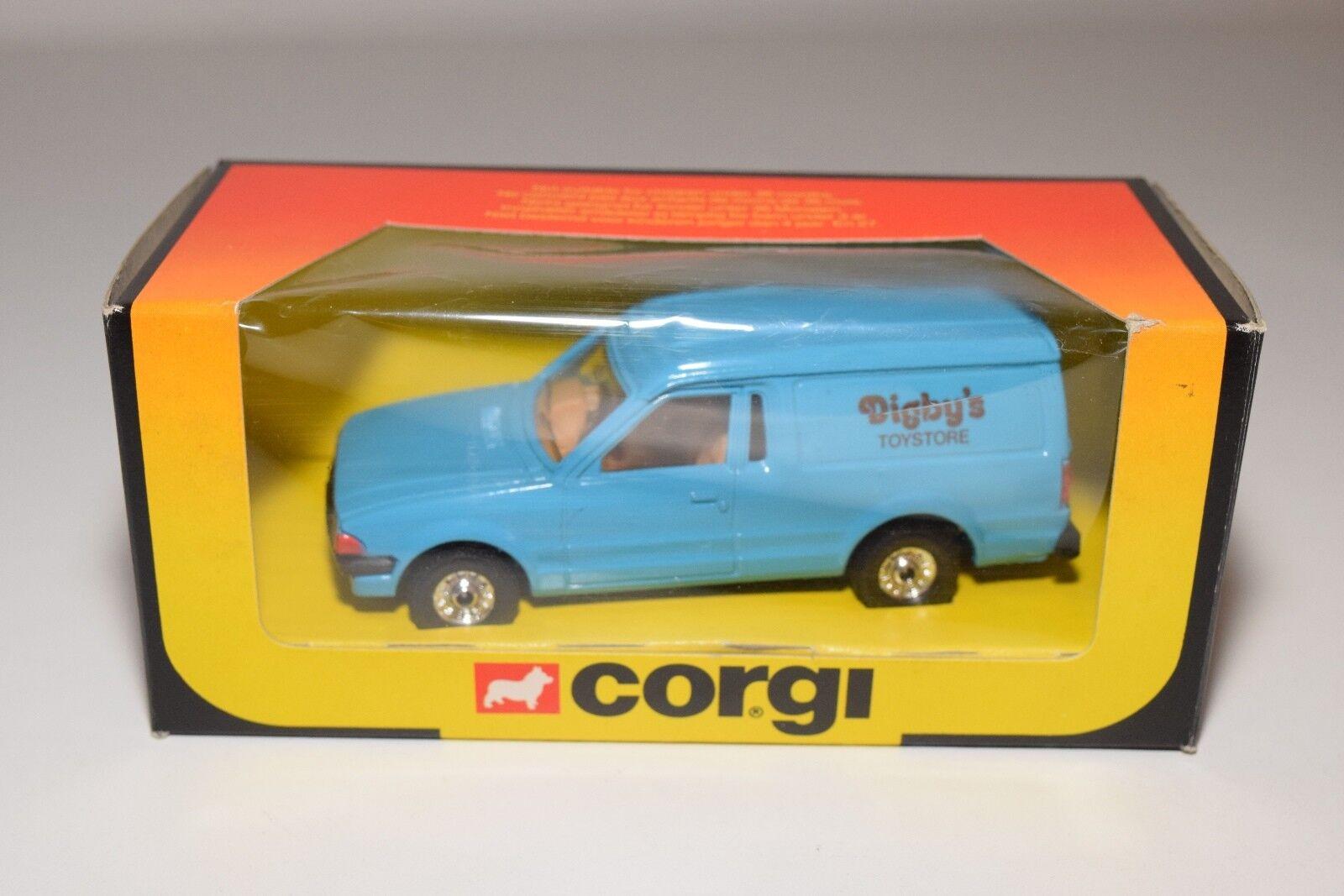^ corgi spielzeug 497 ford escort 55 van digby ist toystore mint umzingelt