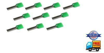 10pcs 16 Gauge Dual Input Wire Ferrule Amplifier Speaker 16 AWG Amp Ferrules