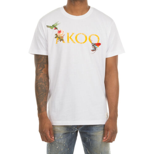 Akoo Kaleidoscope Short Sleeve Knit Tee in 3 Color Choices 791-4302