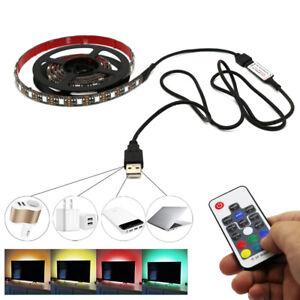 USB TV Tira de Luz LED Luz Trasera Lámpara de...