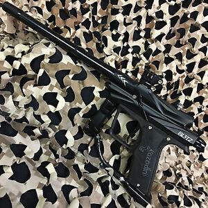 NEW-Azodin-Blitz-3-Electronic-Paintball-Gun-Marker-Black-Black