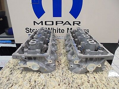 15-17 Charger Challenger New 6.2L Hellcat Engine Cylinder Head Left Right Mopar