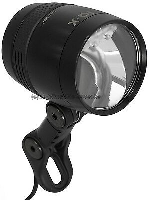 100 Lux B&M LED-Scheinwerfer IQ-X T Sensoplus  (164RTSNDI-04), für Dynamobetrieb
