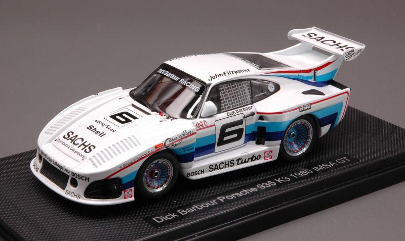 Porsche 935 K3  6 Imsa Gt 1980 1980 1980 1 43 Model 44304 EBBRO 0462f0