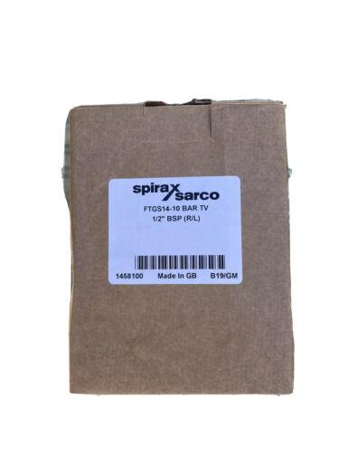 "Spirax Sarco FT14 1//2/"" BSP R//L 10 Bar"