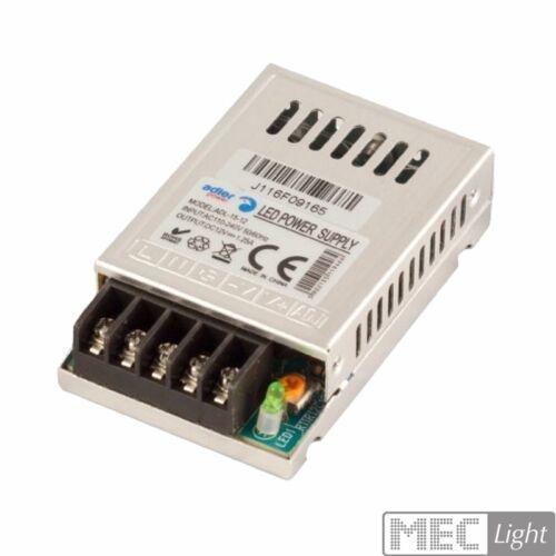 SLIM LED trasformatore 12v//dc 1,25a SMD Luci Montaggio Alimentatore - 15w adl-15-12