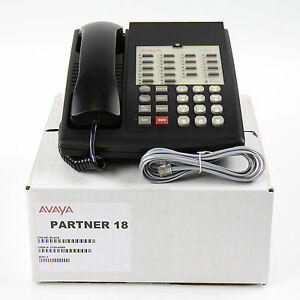 Partner-18-Euro-Series-1-Black-Avaya-Phone-Bulk