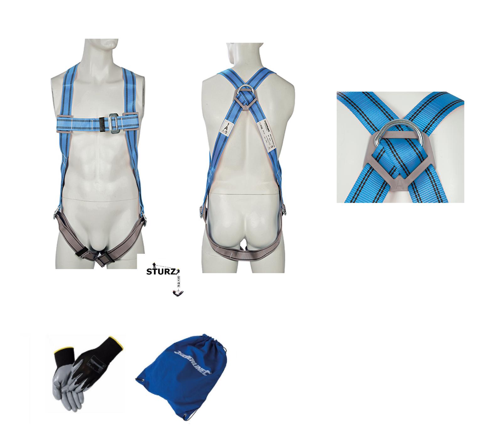 Profi Sicherheitsgurt Atex25 Auffanggurt Fallschutz Absturzsicherung Klettergurt