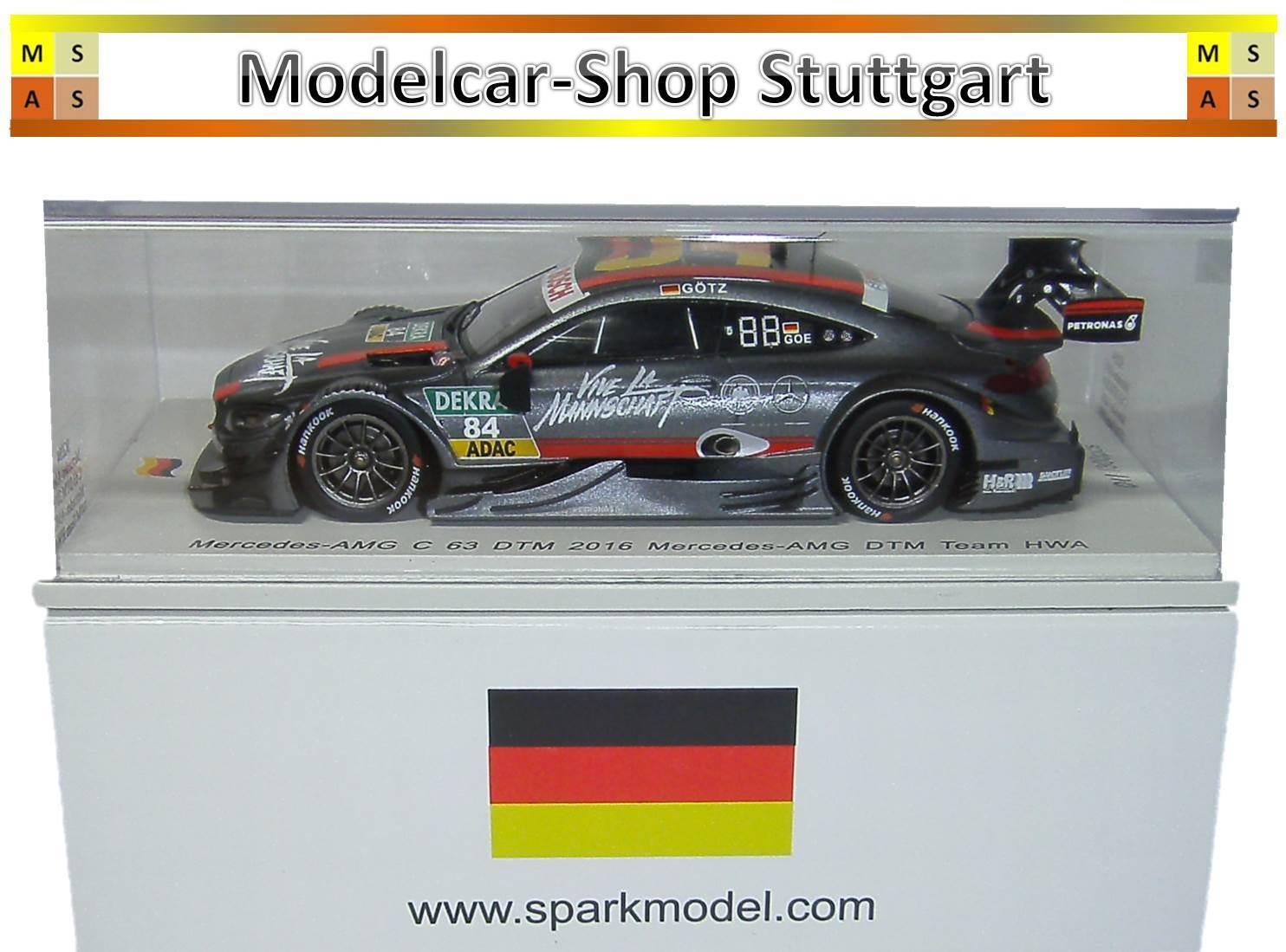 Mercedes AMG C 63 DTM 2016 Mercedes amgteam Maximilian Götz Spark 1 43 SG284