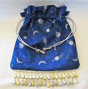Sun-Moon-Stars-Wicca-Pagan-Tarot-Card-Drawstring-Mojo-Bag-Pouch-FREE-SHIPPING