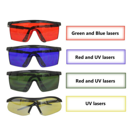 Laser Protection Googles Eye Safety Glasses For Various Colors lasers Protect
