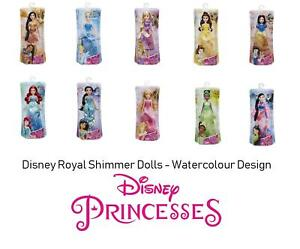 Disney Princess Royal Shimmer Doll - Water Colour Design 2018