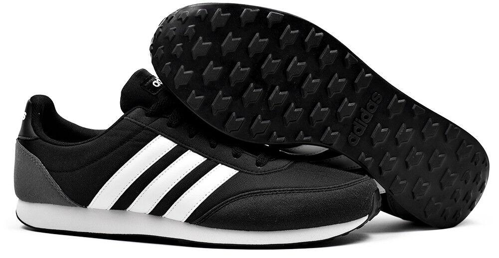 Adidas Neo V Racer 2.0 Baskets Homme fonctionnement Gym Sport Entraînement Chaussures Noir-