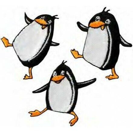 Applikationen Mono Quick  Create Pinguine farbig 3 St 16135