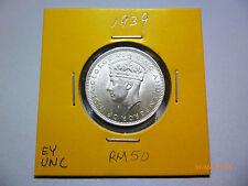 Malaya 20 Cents 1939 - UNC