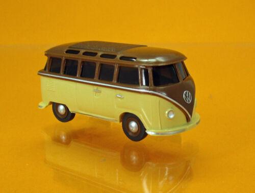 Wiking 031705 Volkswagen VW T1 Samba beige rehbraun Scale 1 87 NEU OVP
