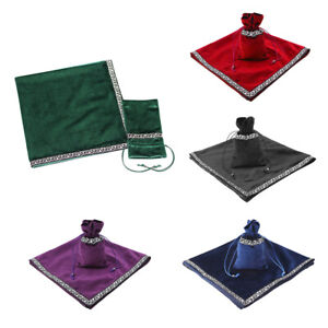 Altar-Tarot-Table-Cloth-W-Divination-Cards-Bag-Wicca-Tablecloth-Pouch