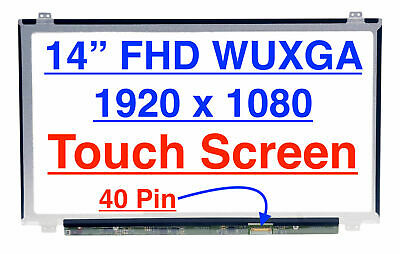 """Lenovo FRU 00NY420 LED LCD Touch Screen 14/"""" FHD 1080P IPS Display Touch Panel"""