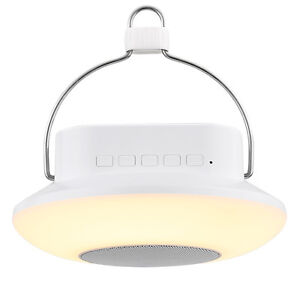 led rgb camping laterne mit bluetooth lautsprecher 16 leds usb bluetooth lampe ebay. Black Bedroom Furniture Sets. Home Design Ideas