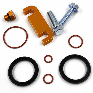 02 duramax fuel filter housing gold duramax fuel filter head spacer+seal rebuild kit+bleeder screw 01-10 614134628452 | ebay #3