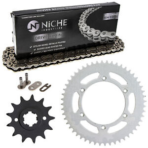 Sprocket Chain Set for Suzuki RS250 13/52 Tooth 520 Rear Front Kit Combo