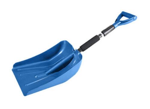 """Assorted Colors 37/"""" SubZero 17211 Auto Extendable Emergency Snow Shovel"""