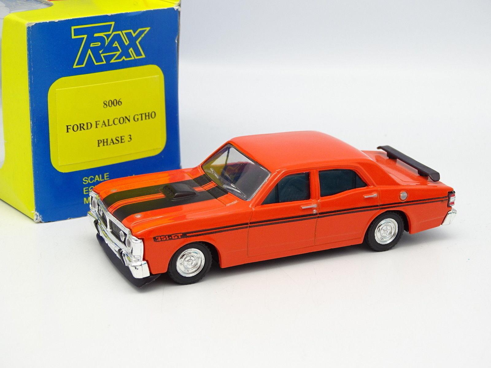 Trax Australie 1 43 - Ford Holden GM Falcon 351 GT Orange