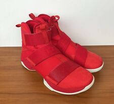 the best attitude 79f33 c3dab item 6 Nike Lebron Soldier 10 SFG LUX University Red White 911306-600 Men s  Size 12.5 -Nike Lebron Soldier 10 SFG LUX University Red White 911306-600  Men s ...