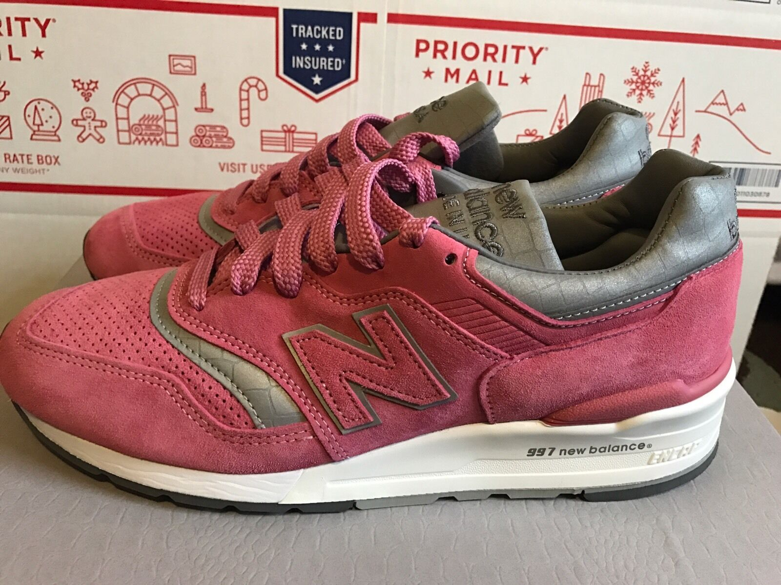 New Balance Mens Concepts M997 pink 9.5