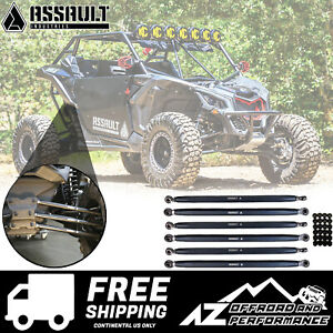 Assault Industries Radius Rod Double Shear Brackets 2017-2020 Can Am Maverick X3