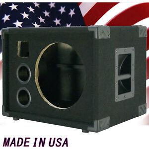 1x12 bass guitar empty speaker cabinet black carpet bg1x12ht ebay. Black Bedroom Furniture Sets. Home Design Ideas