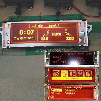 Car monitor RD45 Bluetooth /& air conditioner,screen For Peugeot 307 407 408 c5