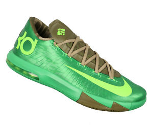 d24fd946e947 NIKE KD VI Basketball Shoes sz 10.5 Bamboo Edition Gamma Green Flash ...