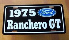 1975 Ford Ranchero Gt License Plate Tag 75 351 Cleveland 429 Super Cobra Jet