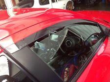 Mazda RX8 RX-8 OEM Side Door Window Rain Guard Shield Visor w/ Logo Right & Left