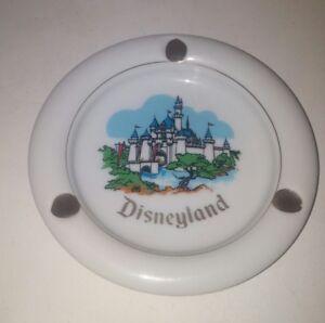 Disneyland-California-Ceramic-Ashtray-Vintage-Japan-1960-039-s