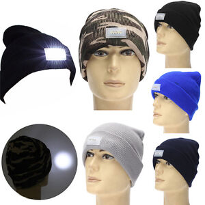 Practical-5-LED-Lighted-Cap-Winter-Beanie-Angling-Hunting-Camping-Running-Hat