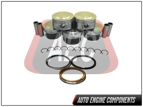 Piston /& Ring Fits GM Hummer Isuzu I-350 Colorado Canyon  3.5 L DOHC SIZE 040