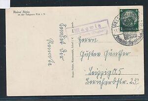 00706-Landpost-Ra2-Magwitz-ueber-Oelsnitz-Vogtland-AK-Ruine-1941
