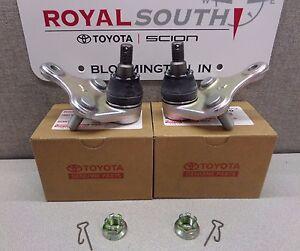 Toyota Rav4 2009 - 2016 Front Lower Ball Joint Set Genuine OEM OE