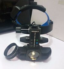 Rechargeable Wireless Indirect Ophthalmoscope with 90 lens and accessories