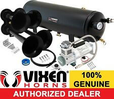 Train Horn Kit for Truck/Car/Semi Loud System /3G Air Tank /200psi /4 Trumpets