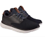 Skechers-Mens-Navy-Black-Air-Cooled-Memory-Foam-Relaxed-Fit-Slip-On-Shoes thumbnail 1