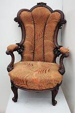 Antico Vittoriano POLTRONA reupholstery Project