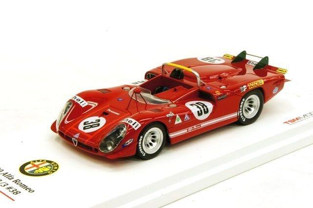 Alfa Romeo Tipo 33 3 1970 le Mans in 1 43 Scala Tsm124311