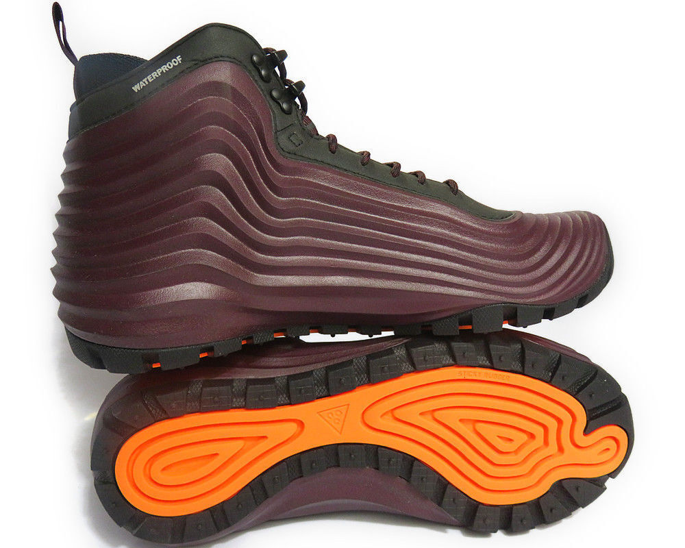 Nike Men's ACG Lunardome 8 1 Sneakerboot 654867-669 SIZE 8 Lunardome Deep Burgundy/Black,NEW e96260