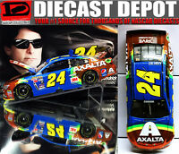 Jeff Gordon 2015 Retro Rainbow Axalta Color Chrome 1/24 Action Nascar Diecast