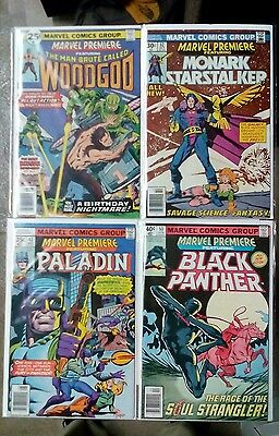 Strict Marvel Premiere Issues #31 32 black Panther Paladin Woodgod marvel,1970s 43 53